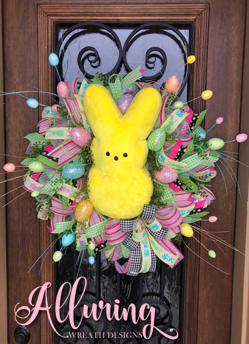 Easter Sugar Bunny Wreath for Your Front Door image 0