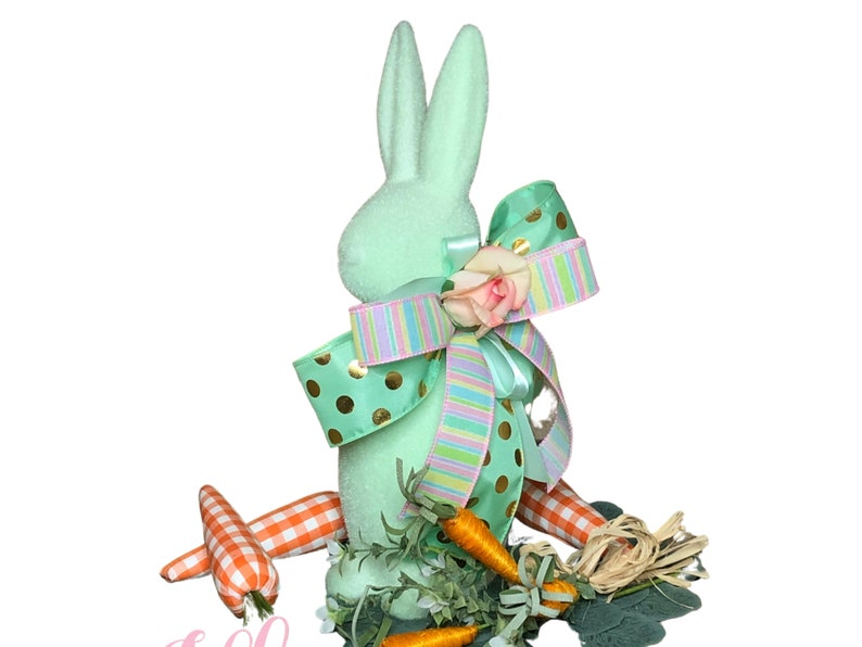 Easter Bunny Centerpiece in Mint for Table image 0
