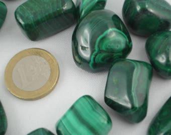 Malachite stone 2-3cm.