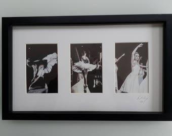 Three ballerinas Framed Prints