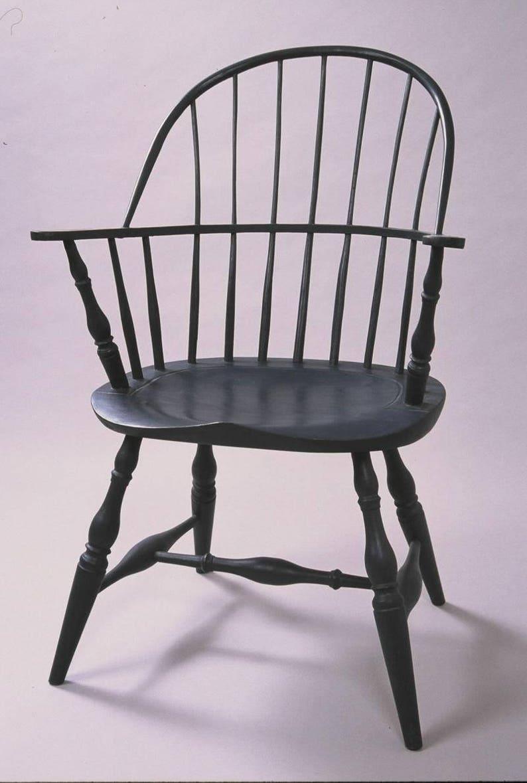 Genial Boston Sack Back Windsor Chair