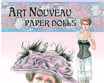 PARIS FASHION Paper Doll Book with French Designer Styles 1919-1939