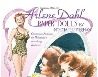 Arlene Dahl Paper Dolls