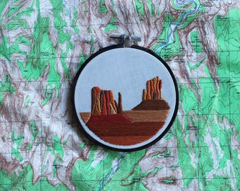 Monument Valley, Navajo Tribal Park - 4 inch