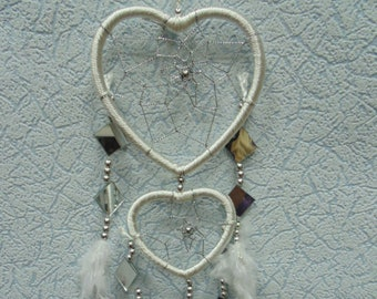 Dream catcher, a trap for dreams, good dreams, a heart, a valentine's day