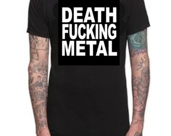 Death Metal T-Shirt Men Women Heavy Metal Thrash Metal