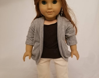 Sweet Slouch Sweater for 18-inch Size Dolls