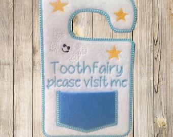 Tooth fairy door hanger