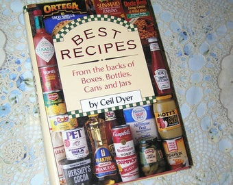 BEST RECIPES – From the back of Boxes, Bottles, Can and Jars (1989)