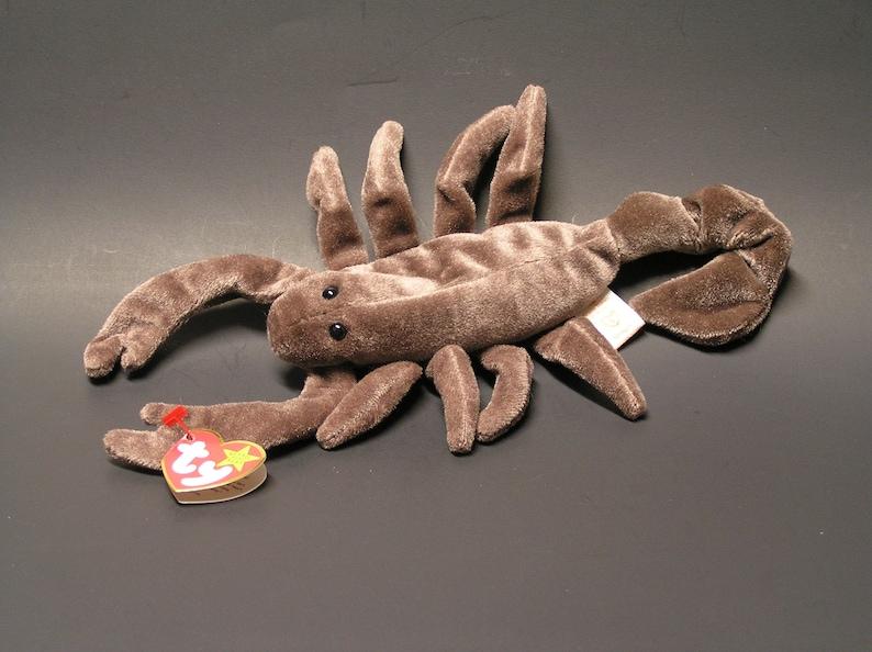 43eb0181b16 Rare Ty Stinger Beanie Baby Scorpion Retired 1997 Original