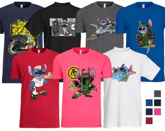 Any StitchToons Design on a Premium T-Shirt!
