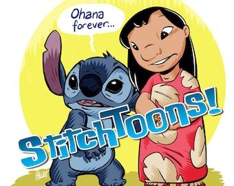 Ohana Forever Lilo and Stitch Parody Fan Art