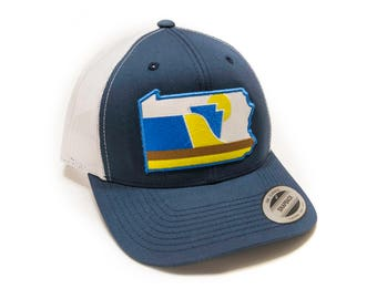 Pennsylvania Hat | Pennsylvania Baseball Cap | Snapback | Trucker Hat | Pennsylvania Pride | Pennsylvania | RepresentPA | PA Hat