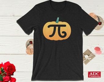 Pumpkin Pi Funny Halloween Tshirt, Math Funny Tshirts, Pumpkin Pi Shirt, Funny Pumpkin Shirt, Pumpkin Pi Tshirt Kids