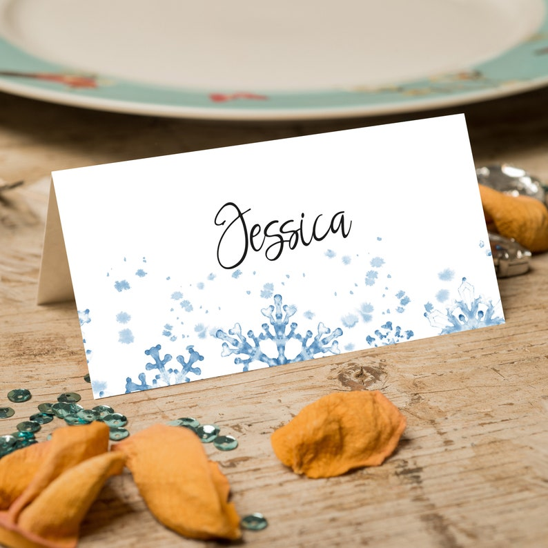 Place Cards With Flowers Simple Place Cards Place Cards Sage Greenery Seating Cards Personalized Place Cards Personalised Place Name