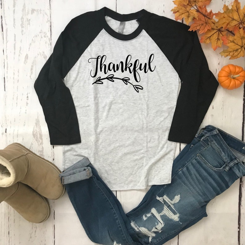 f5ea98f7a66 Thanksgiving shirt Thankful shirt Fall t-shirt Fall