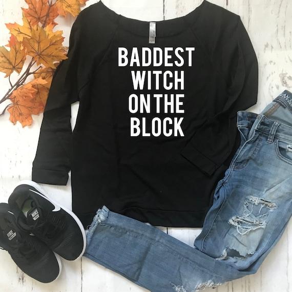 470a62ac Bad Witch/Cute Halloween Shirt/Halloween shirt/Lightweight   Etsy