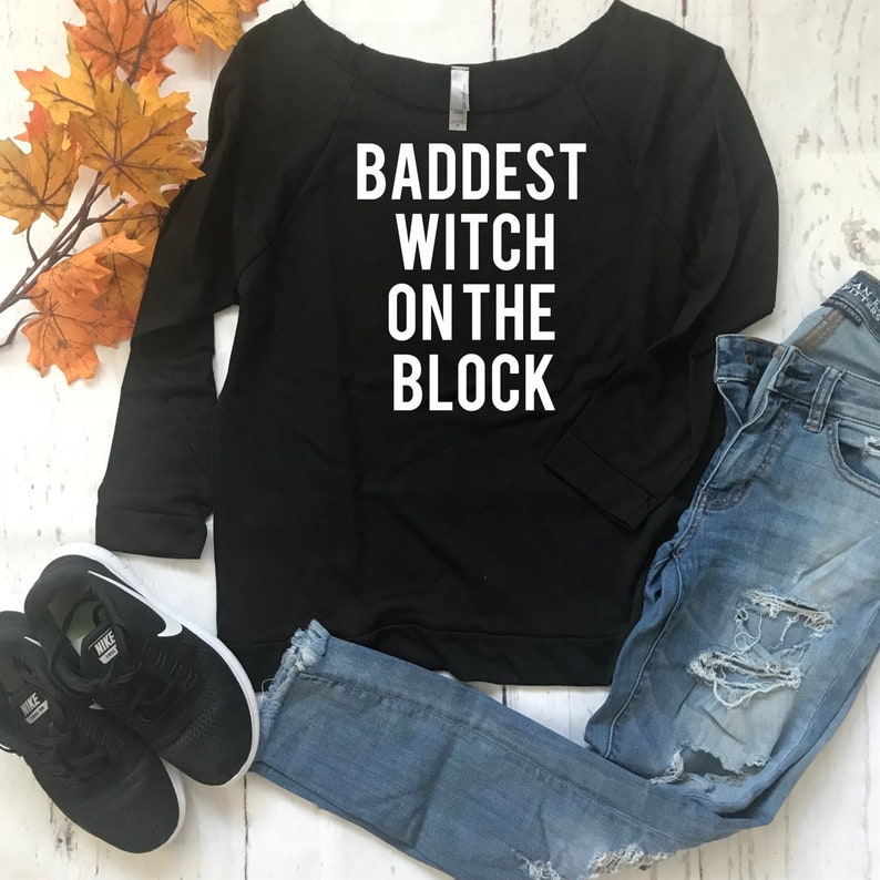 edf577f5425b Bad Witch/Cute Halloween Shirt/Halloween shirt/Lightweight   Etsy