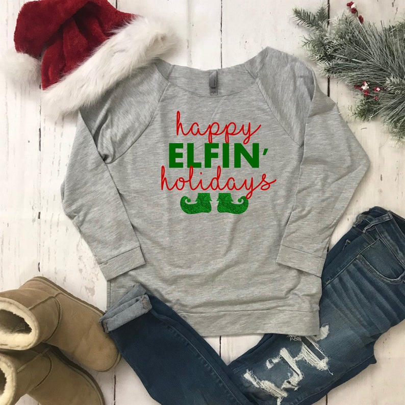 cff31ec9 Funny Holiday shirt/Christmas Sweaters Women/Holiday Sweaters | Etsy