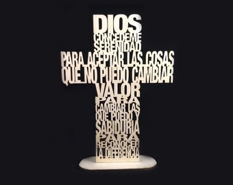 Prayer In Spanish Etsy
