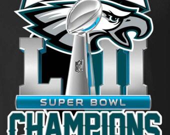 Philadelphia Eagles Super Bowl LII Champions Magnet 2.5 x 3.5 5d997cf97
