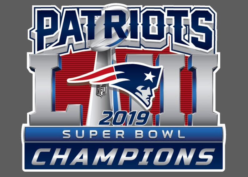 9a516f646ed New England PATRIOTS Tom Brady 6x Super Bowl Champions 2019