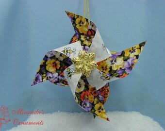 Tutorial Windmill ornament.