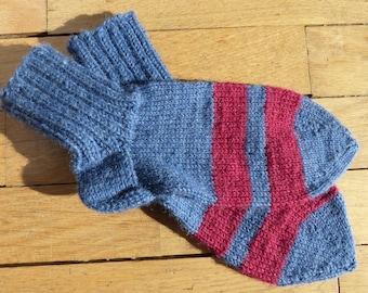 Finnish wool striped socks