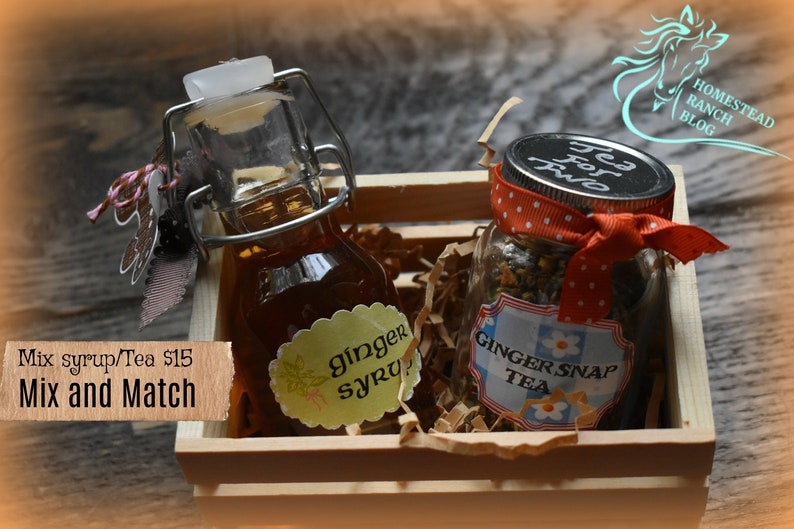 Tea for Two and Syrups image 0