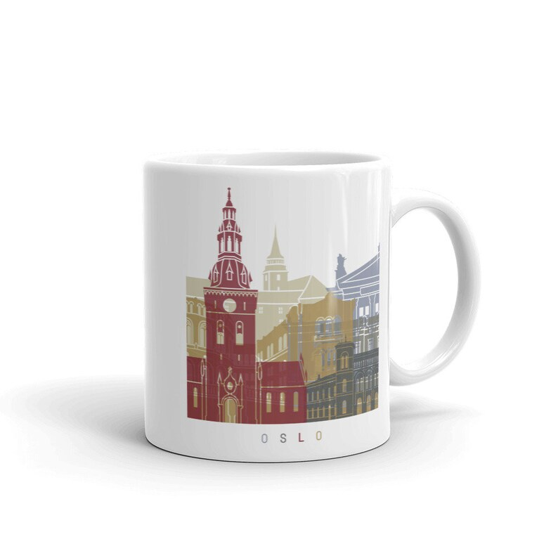 Norway Coffee Cup Oslo Mug Tea TXOZPkiu