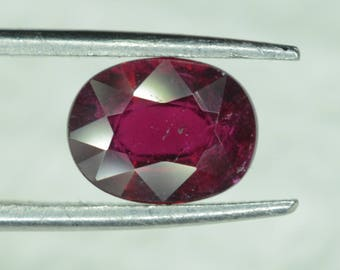 pink rubellite tourmaline from africa 2.35 ct 10x7x5 cm