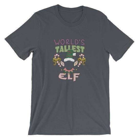 Mondes plus haut elfe elfe haut Noël manches courtes T-Shirt unisexe 48675a