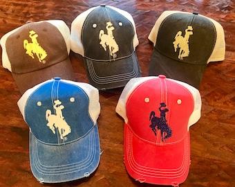 Wyoming Trucker Hats/Caps