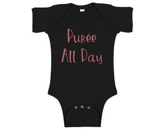 Purée All Day Baby Onesie