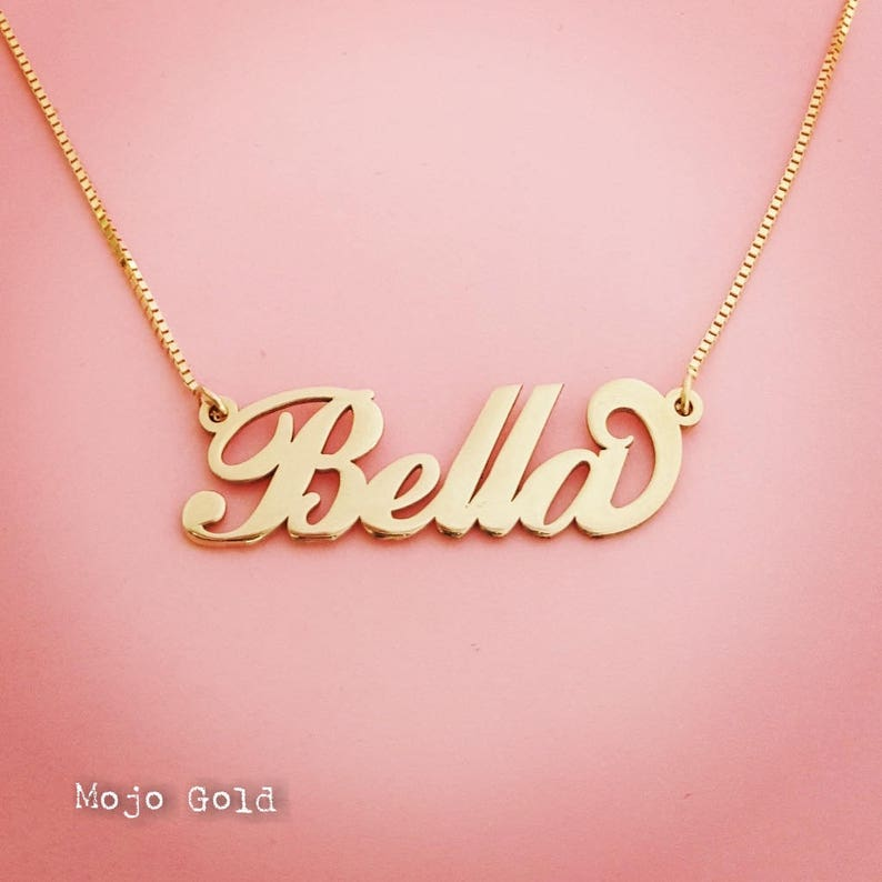 89949c88e76f2 Custom Order/Bella Necklace/Isabella Necklace/Women's Necklace/Women's Name  Necklace/Personalized Jewelry/Personalized Necklace