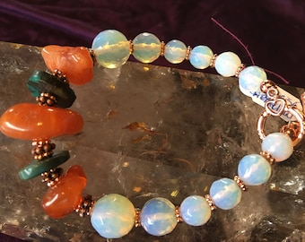 Empowered with Carnelain & Turquoise