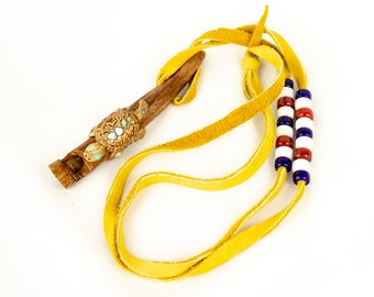 Small Native American Style Calumet Gift Pipe Indian Style