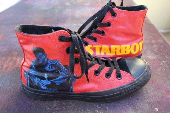 the weeknd Ladies slippers BOOTS personalised