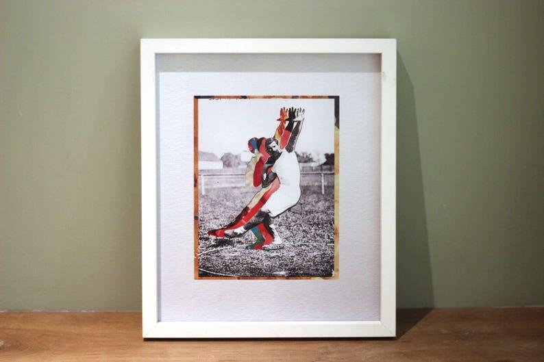Josef  Digital Collage Art Print Poster image 1