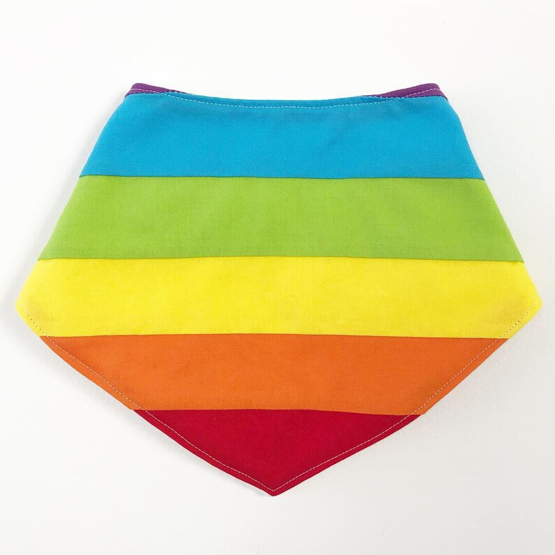 Rainbow Bib / Dribble bib / bandana bib / baby bib / Rainbow