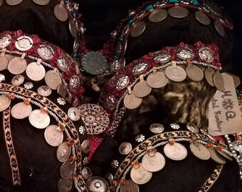 ATS Tribal Fusion Bellydance Bra individually customized