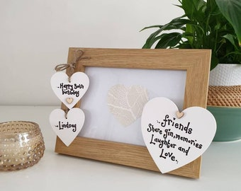 40th Birthday Signing Guest Photo Frame Gift 7x5 Photo by Photos in a Word 668D