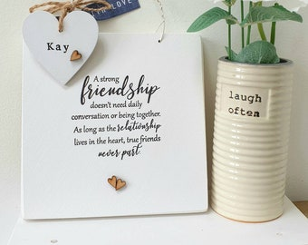 Hand Stamped Friend Gift JAN 2021 DISPATCH