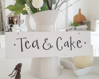 Tea & Cake Sign.. made to order
