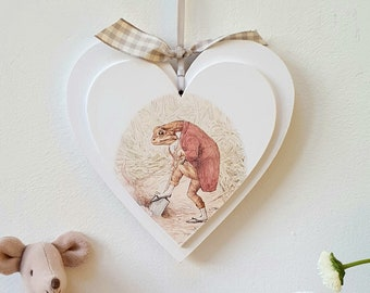 Beatrix Potter Heart.. ref 9.. ready to dispatch