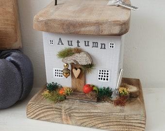 Autumn Cottage in light grey .. pre order end Sept