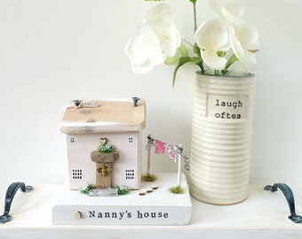 Nanny's Mum's Granny's House Cottage .. made to order