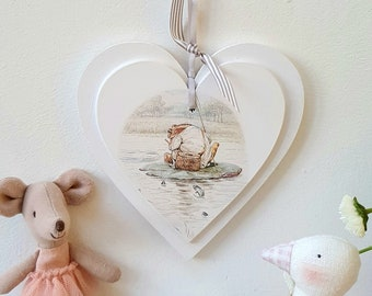Jeremy Fisher Beatrix Potter Heart.. ref 4.. ready to dispatch