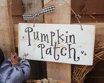 Pumpkin Patch Sign made to order