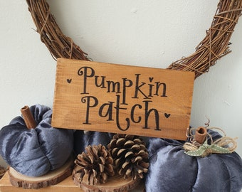 Pumpkin Patch sign .. ready to dispatch